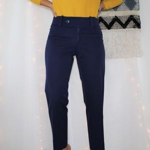Lilly Pulitzer Navy Blue Trouser Pants 007